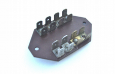 Bukh DV 10  diode plate for the electronic panel